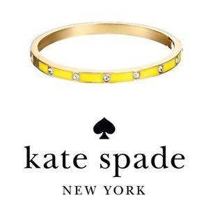 Kate Spade Set In Stone Enamel Bangle